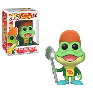 Funko Pop! Ad Icons Dig Em Frog is #42